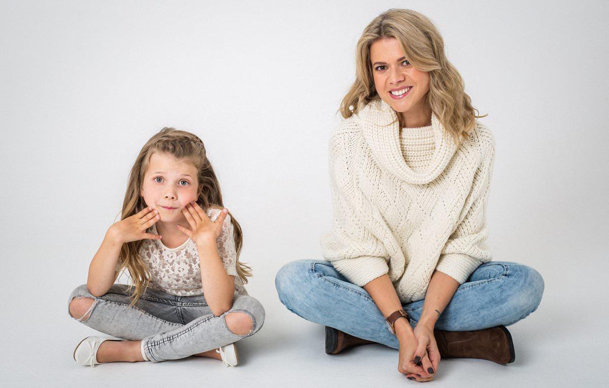 Roxy Ava Mother Daughter Photoshoot