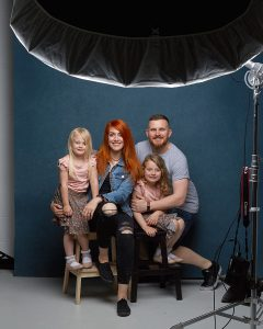 Tim bIshop Studio Family Portrait
